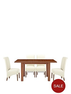 primo-extending-dining-table-and-4-sienna-chairs