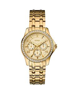 guess-mini-exec-crystal-gold-plated-stainless-steel-ladies-watch