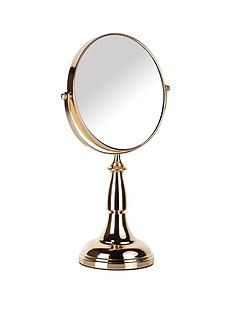 danielle-creations-gold-plated-magnified-vanity-mirror-with-double-sided-viewing