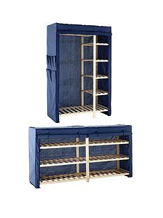 canvas-double-wardrobe-double-shelving-unit-package-deal-buy-and-save
