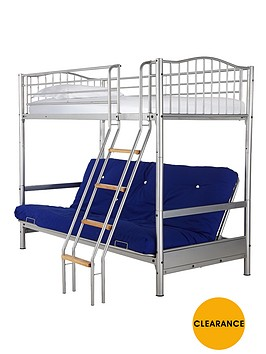kidspace-alaska-futon-bunk-with-single-mattress