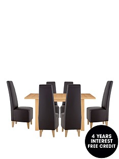 primo-extendable-table-with-4-manhattan-chairs