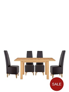 primo-extending-dining-table-6-manhattan-chairs