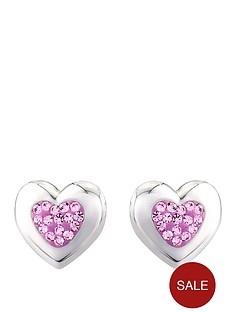 love-silver-sterling-silver-and-pink-crystal-stud-earrings