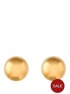 love-gold-9-carat-yellow-gold-5-mm-ball-stud-earrings