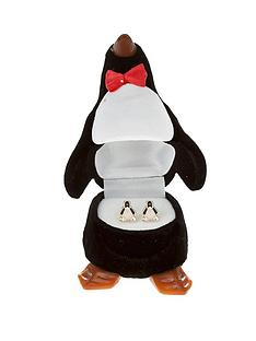 love-gold-9-carat-yellow-gold-enamel-penguin-stud-earrings