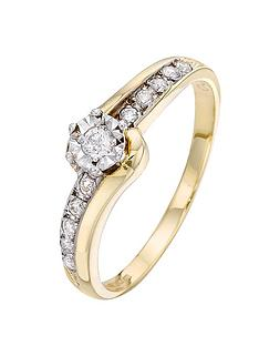 love-diamond-9-carat-yellow-gold-20-point-illusion-set-solitaire-ring-with-diamond-twist-shoulders