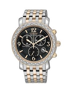 citizen-eco-drive-stainless-steel-and-rose-gold-tone-ladies-watch
