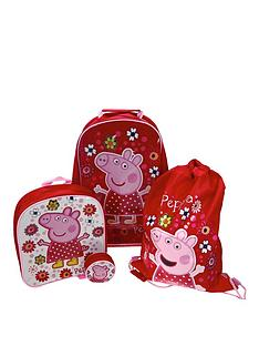 peppa-pig-4-piece-luggage-set