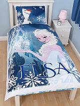 Frozen Elsa Single Duvet Cover Set