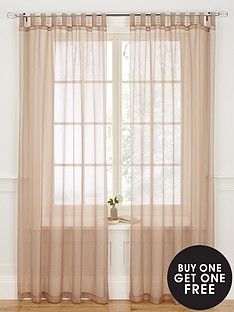 plain-dyed-voile-tab-top-range-buy-one-get-one-free