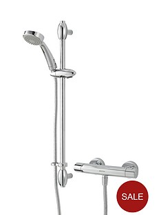bristan-oval-exposed-shower-valve-with-riser-kit-chrome