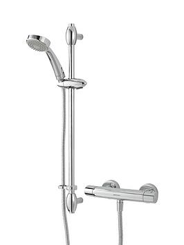 bristan-oval-thermostatic-bar-shower-with-shower-kit-chrome