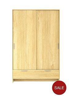 cambridge-sliding-2-door-1-drawer-wardrobe