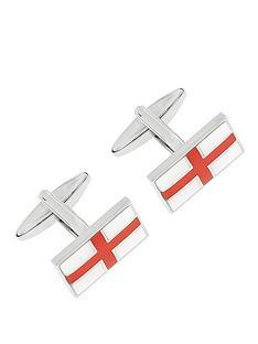 enamel-plated-st-george-cross-cufflinks