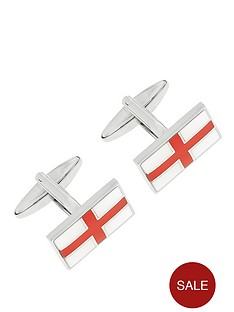 enamel-plated-st-george-cross-cufflinks