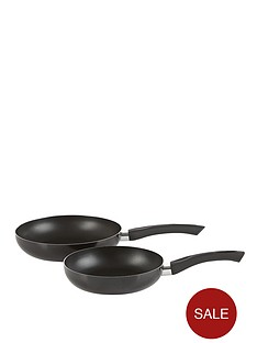swan-aluminium-frying-pan-set-black