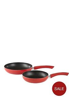 swan-aluminium-frying-pan-set-red
