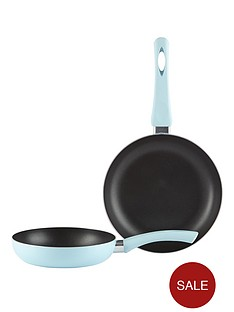 swan-aluminium-frying-pan-set-blue