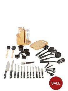 swan-31-piece-knife-block-utensil-set