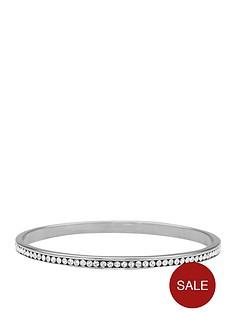 lola-and-grace-rhodium-plated-stone-set-bangle-with-swarovski-elements