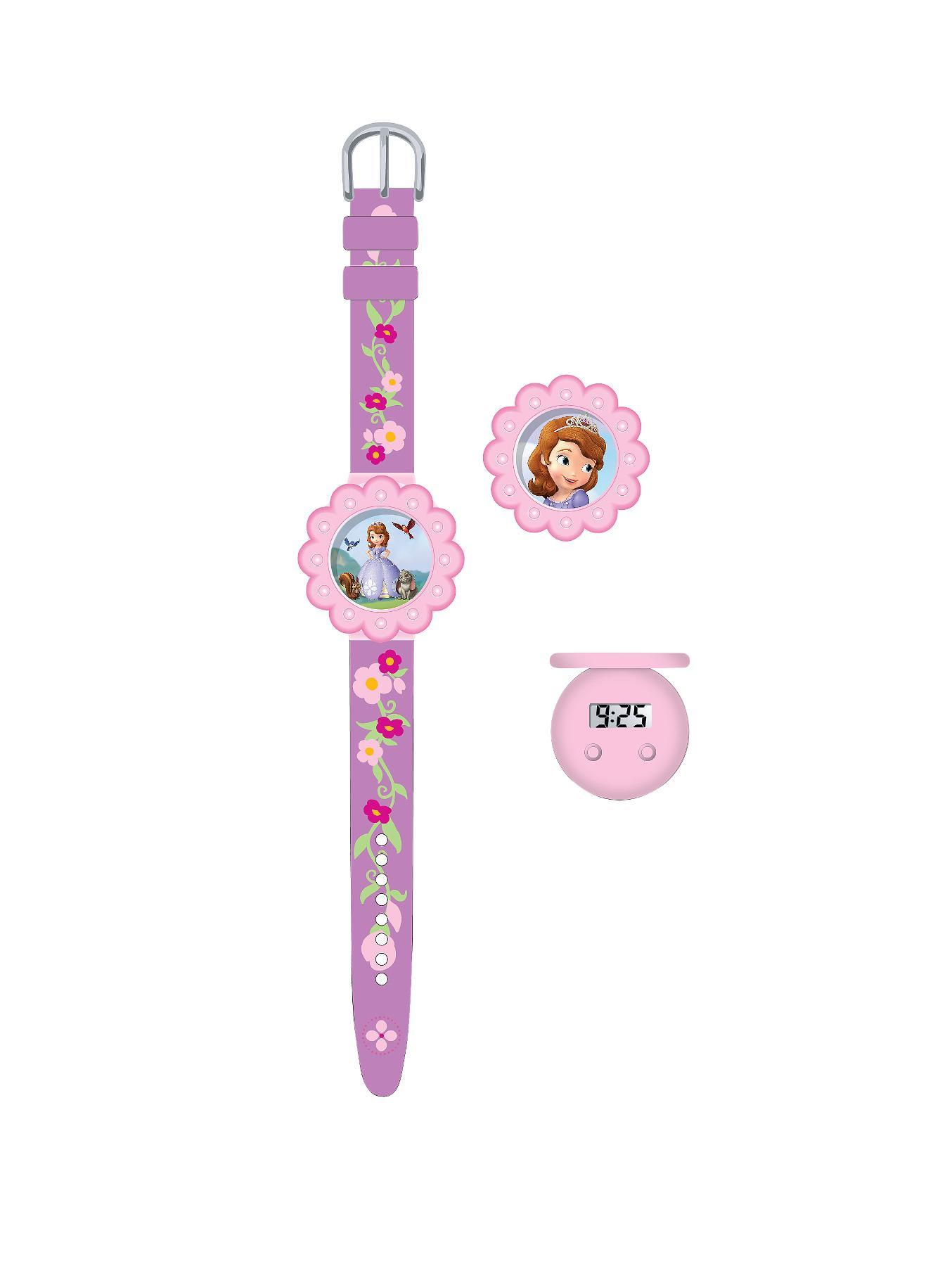 Sofia Interchangeable Head Childrens Watch at Littlewoods