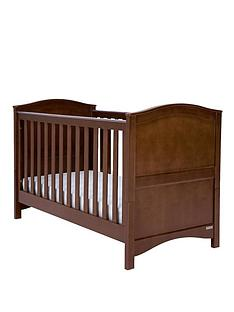 mamas-papas-ashford-cotbed-walnut