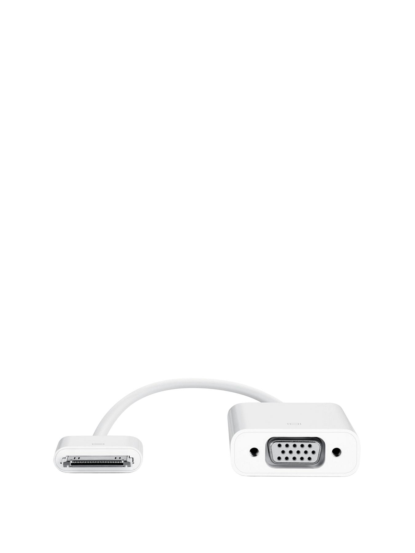 iPad 30-Pin Dock Connector to VGA Adapter
