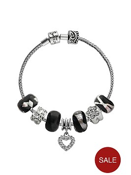 sterling-silver-interchangeable-sparkle-charm-bracelet