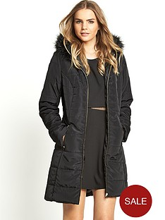 love-label-faux-fur-hooded-padded-coat