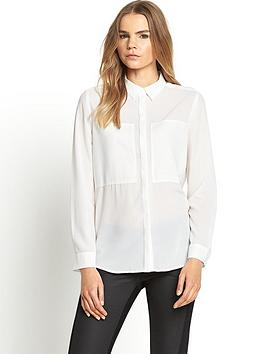 love-label-patch-front-blouse-white