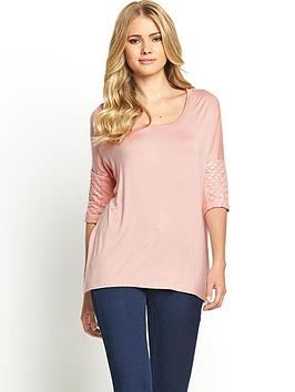 definitions-quilted-sleeve-scoop-neck-top