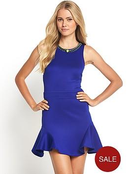 definitions-embellished-flippy-scuba-dress