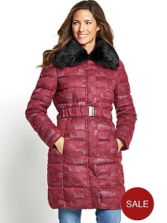 savoir-three-quarter-padded-coat