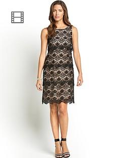 scallop-layered-lace-dress
