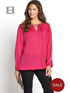 savoir-embroidered-necklace-shoulder-blouse