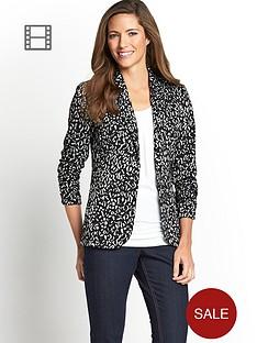 ponte-jacquard-jacket