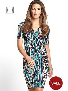 petite-savoir-ity-printed-zip-dress