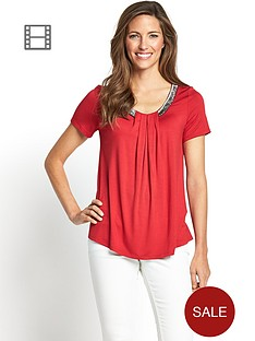 bugle-bead-pleat-front-top