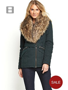 south-oversized-faux-fur-belted-coat