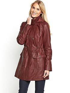 south-leather-parka