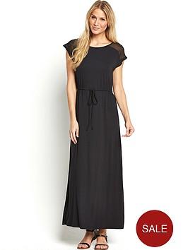 south-chiffon-yoke-maxi-dress-black