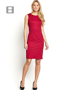 petite-belted-ponte-workwear-dress