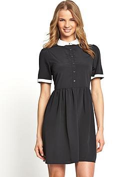 south-monochrome-shirt-dress