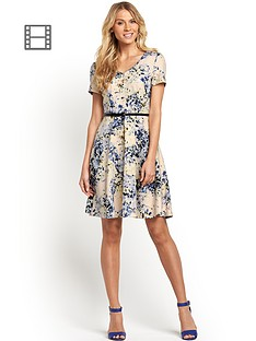petite-scuba-print-day-dress