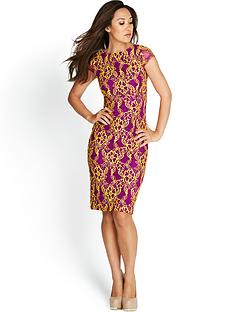 bright-lace-pencil-dress