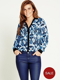 aztec-print-blouse