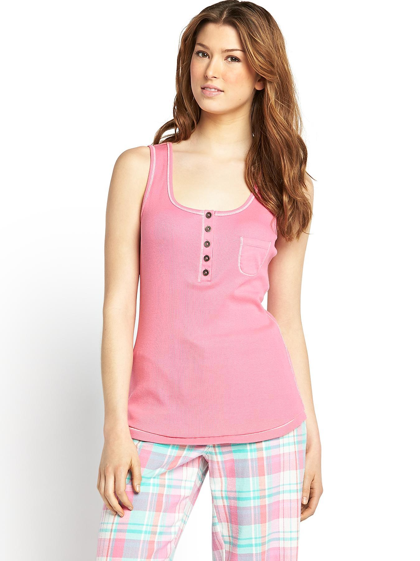 Mix and Match Vest, Pink