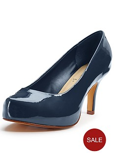 so-fabulous-pitillo-mid-heel-patent-platform-shoes-extra-wide-fit-navy