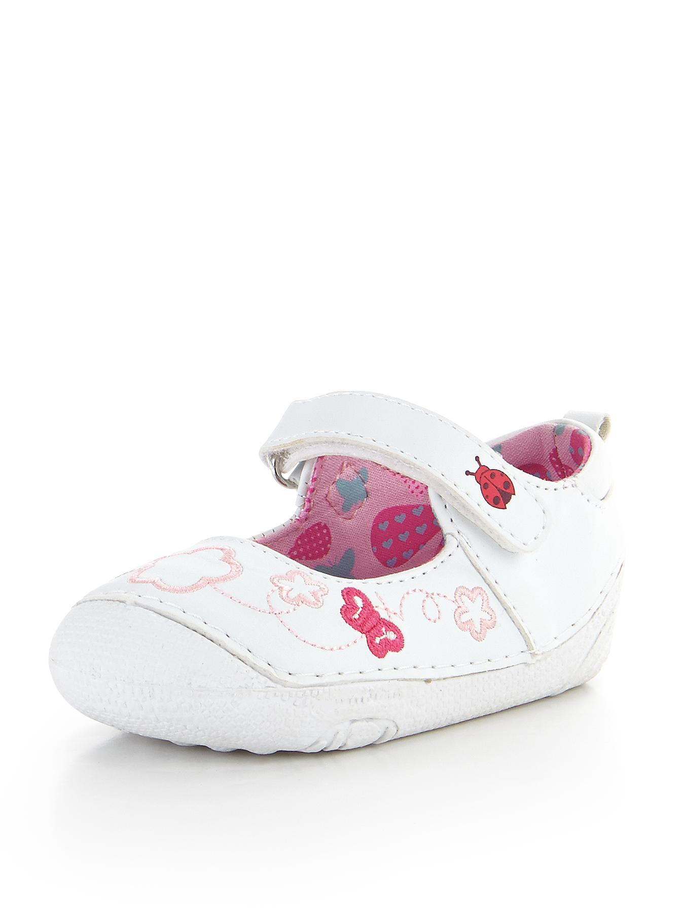 Alana First Walker Shoes, White